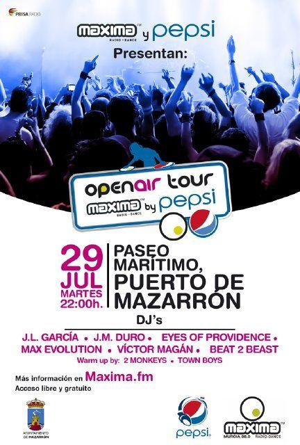 Los mejores dj´s del momento estarán en el Puerto de Mazarrón el próximo martes, Foto 2