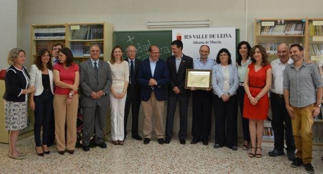 La Red de Centros de Excelencia de la Región de Murcia llega a los 50 colegios e institutos, Foto 1