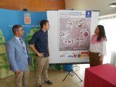 Alumnos de arquitectura estudian la transformación del área industrial en el eje Murcia-Molina de Segura
