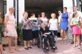La Alcaldesa de Archena homenajea a una vecina de El Hurtado en su cumpleaños por sus cien años de vida