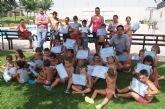 120 niños participan en la segunda quincena de julio de la Escuela de Verano