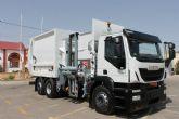 Mazarrón en la vanguardia medioambiental al renovar su flota de vehículos de limpieza con un nuevo camión