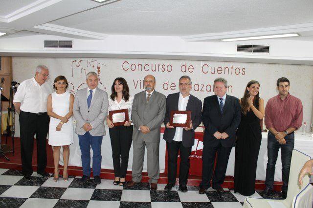Marta Guiberteau y José Ignacio Sendón premiados en la noche más literaria del municipio, Foto 1