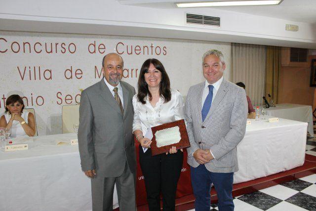 Marta Guiberteau y José Ignacio Sendón premiados en la noche más literaria del municipio, Foto 2