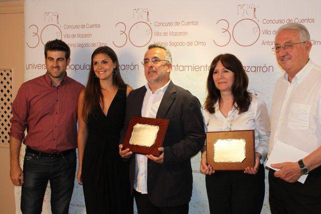 Marta Guiberteau y José Ignacio Sendón premiados en la noche más literaria del municipio, Foto 3