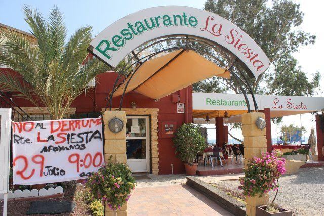 El ayuntamiento se opone al derribo del restaurante La Siesta de Bolnuevo previsto para este martes, Foto 2