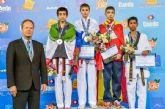 Arturo Gómez del Club Koryo de Torre-Pacheco bronce en el mundial cadete de taekwondo