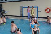 Nueva campaña de verano con actividades acuáticas saludables y aquagym para las personas mayores