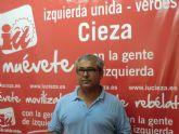 Penalva: 'El Ayuntamiento de Cieza gasta 2,2 millones de euros más de lo que ingresa en el primer semestre de 2014'