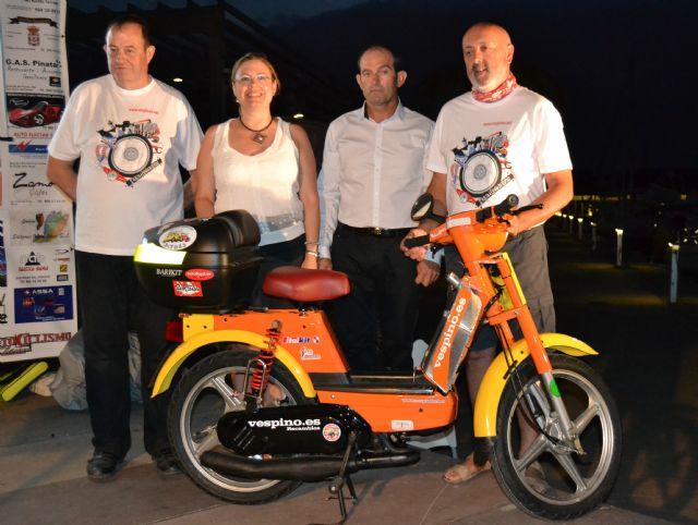 Arranca en San Pedro del Pinatar la II Vuelta a España en vespino que recorrerá 8.000 kilómetros - 1, Foto 1