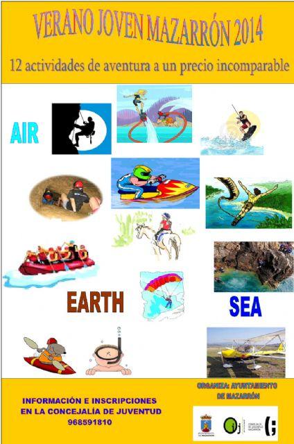 Doce actividades al aire libre componen la oferta del