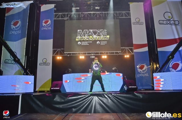 Más de 6.000 personas disfrutaron en Mazarrón del Open Air Tour Máxima FM by Pepsi, Foto 1