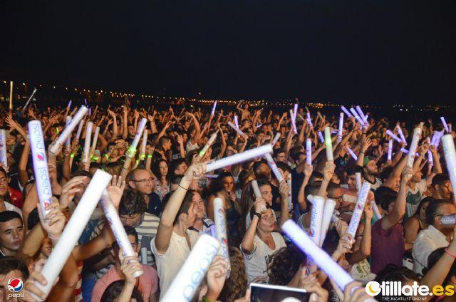 Más de 6.000 personas disfrutaron en Mazarrón del Open Air Tour Máxima FM by Pepsi, Foto 3