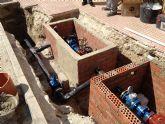 HIDROGEA acaba con los cortes de agua en Abanilla