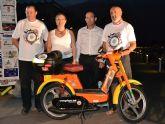 Arranca en San Pedro del Pinatar la II Vuelta a España en vespino que recorrerá 8.000 kilómetros