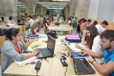Las bibliotecas y aulas de estudio de la UPCT abren durante todo agosto