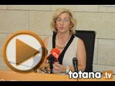 Rueda de prensa PSOE Totana. Valoración Pleno julio 2014