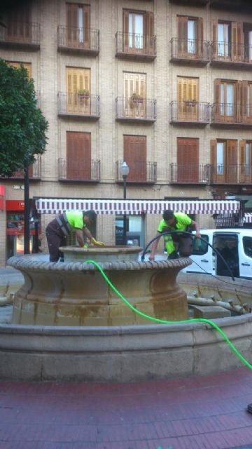 Medio Ambiente continúa con sus trabajos de mantenimiento y mejora de espacios verdes en los barrios y pedanías de Murcia - 5, Foto 5