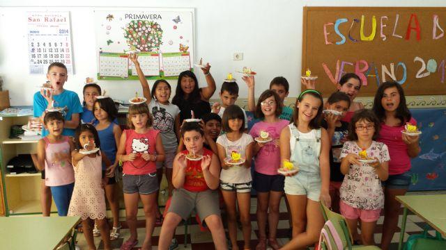 Se clausura la Escuela de Verano de Totana en la que han participado 100 niños - 2, Foto 2