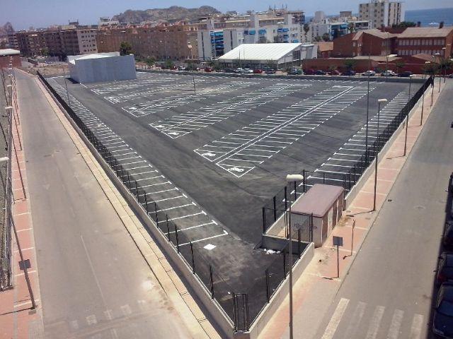 Los ciudadanos podrán utilizar desde hoy el nuevo Parking Público situado junto a la Estación de Renfe - 1, Foto 1