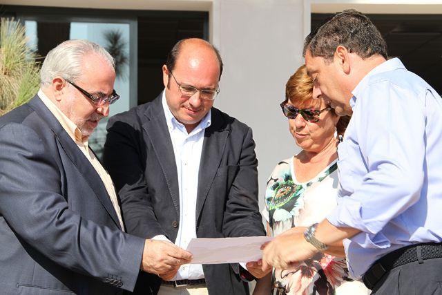 El consejero de Educación y la alcaldesa visitan el nuevo Campus de la UCAM en Cartagena - 2, Foto 2