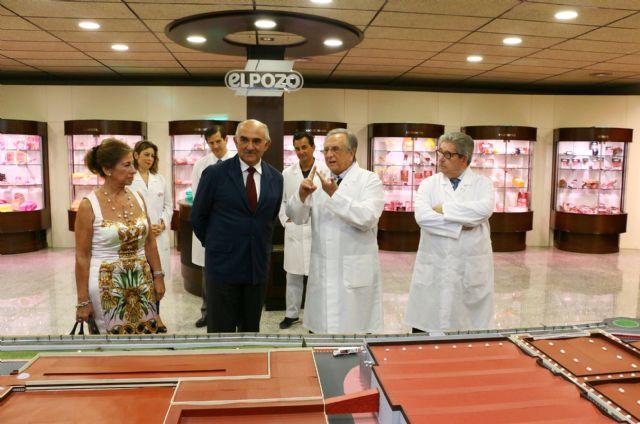 El presidente Garre agradece a Grupo Fuertes su contribución a la creación de empleo en la Región de Murcia - 2, Foto 2