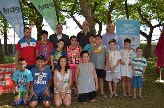El programa Activa Familias se clausura en San Javier con medallas para los 12 niños participantes y sus  familias - 2, Foto 2