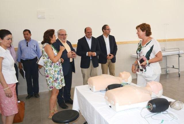 El consejero de Educación visita las obras del nuevo campus de la Ucam en Cartagena - 1, Foto 1