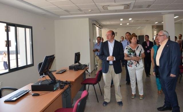 El consejero de Educación visita las obras del nuevo campus de la Ucam en Cartagena - 2, Foto 2