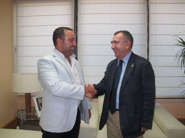 Reunión con el presidente de la Asociación de Centros de Buceo de la Región de Murcia - 1, Foto 1