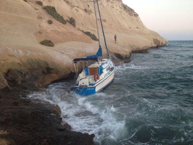 Cruz Roja Española en Águilas rescata a 3 bañistas en Matalentisco - 1, Foto 1