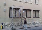El Ayuntamiento realiza obras de mejora en colegios del municipio aprovechando el periodo vacacional