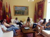 El Alcalde felicita a la ajedrecista lorquina Beatriz García por la consecución del campeonato de España sub-16
