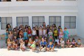 Decenas de niños y niñas de Jumilla despiden las diversas ludotecas y escuelas de verano con almuerzos, juegos y entrega de diplomas