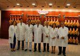 El presidente Garre agradece a Grupo Fuertes su contribución a la creación de empleo en la Región de Murcia