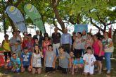 El programa 'Activa Familias' se clausura en San Javier con medallas para los 12 niños participantes y sus  familias