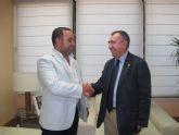 Reunión con el presidente de la Asociación de Centros de Buceo de la Región de Murcia