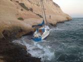 Cruz Roja Española en Águilas rescata a 3 bañistas en Matalentisco