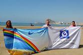 Record de banderas para las playas de Águilas