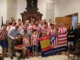 El Concejal de Deportes recibe a los miembros de la nueva Peña Atlética 'Castillo de Lorca'
