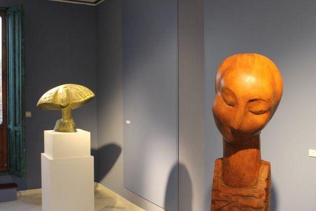 Lola Arcas inaugura en las Casas Consistoriales la muestra La atracción de la forma - 2, Foto 2