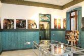 Lola Arcas inaugura en las Casas Consistoriales la muestra 'La atracción de la forma'