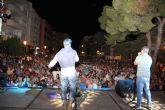 El grupo gaditano DECAI ofreció un concierto en Puerto Lumbreras ante más de 2000 de personas