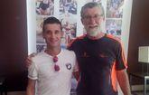 Dos atlelas del Club Atletismo Totana participaron en la XXX edici�n de la Subida al Pico Veleta