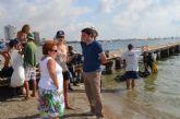 La concejalía de Medio Ambiente y el club de buceo Turkana celebraron hoy una jornada de limpieza de fondos marinos