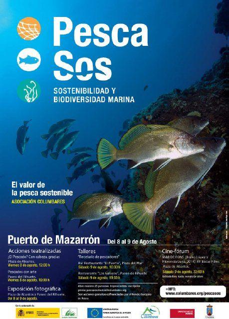 La asociación columbares inicia en Mazarrón una campaña a favor de la pesca sostenible, Foto 1