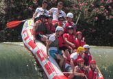 La Asociación Cultural El Cañico vuelve a organiza una jornada para disfrutar del descenso en rafting por el río Segura