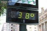 Meteorología advierte de que mañana sábado las temperaturas pueden alcanzar los 38 grados (riesgo amarillo)