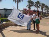 San Javier ya cuenta con cinco 'Q' de Calidad Turística  en playas tras sumar tres nuevas en la última certificación del Instituto ara la Calidad Turística Española