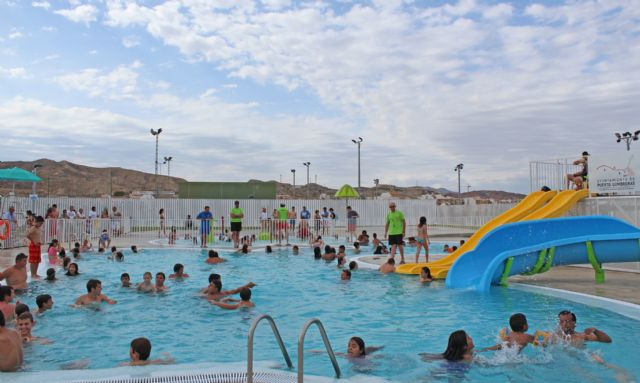 8.501 bañistas han disfrutado ya de las nuevas piscinas municipales de verano en Puerto Lumbreras - 1, Foto 1